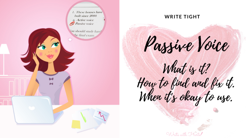 Passive Voice in Romance Writing